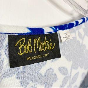 Bob Mackie Tops - 5/$25 Bob Mackie Floral Print Short Sleeve Top